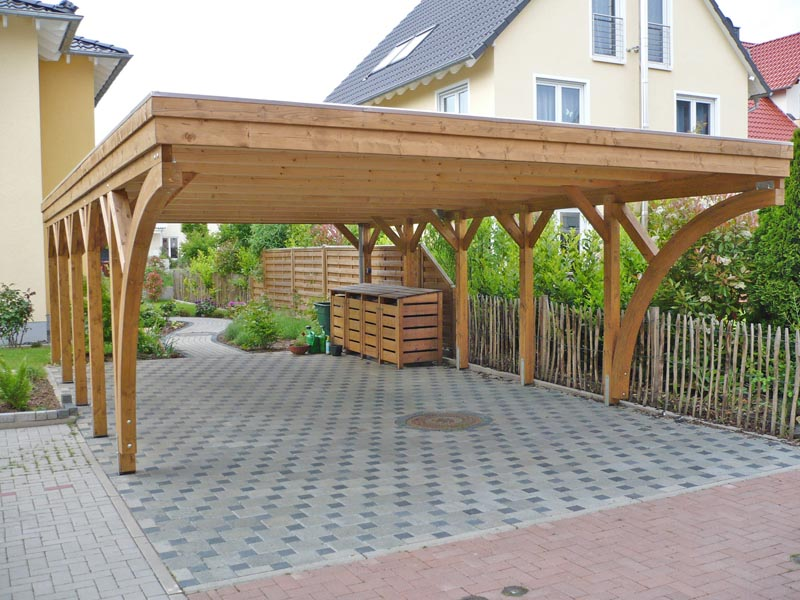 carport holz catlitterplus. Black Bedroom Furniture Sets. Home Design Ideas